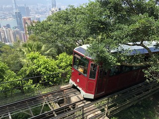 train on the bridge hong kong