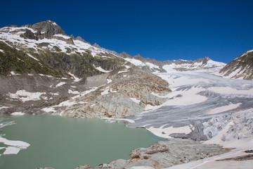 Wall Mural - Rhone glacier