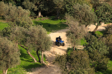 Quad biking on Akamas Peninsula  - Cyprus