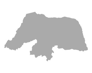 Karte von Rio Grande do Norte