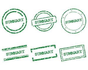 Summary Stempel