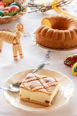 Polish Easter cheesecake