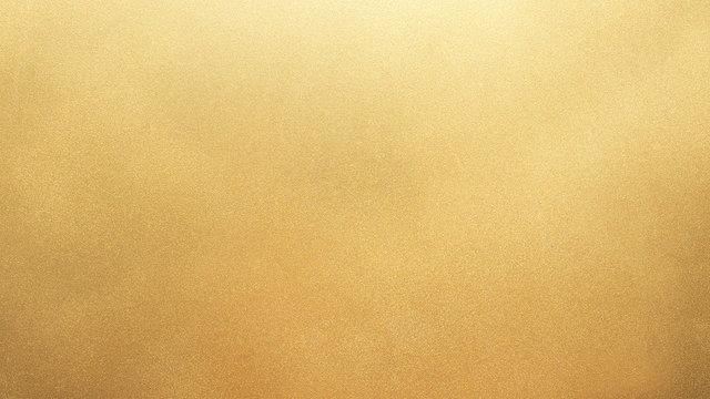 Details golden yellow particles texture background
