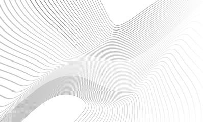 Vector illustration of the pattern of the gray lines abstract background. EPS10.