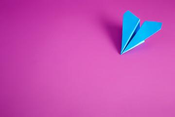paper airplane Fototapete