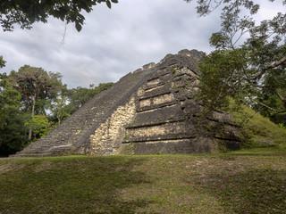 Pyramids in Nation's most significant Mayan city of Tikal Park, Guatemala