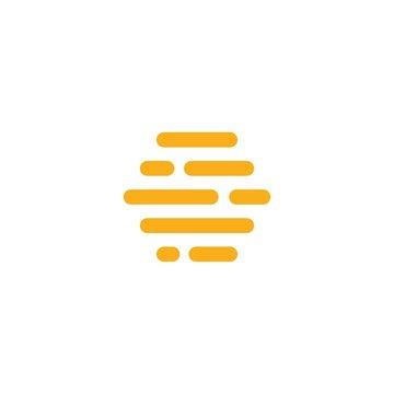 hive digital logo vector icon symbol