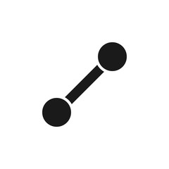 user line path icon. Signs and symbols can be used for web, logo, mobile app, UI, UX