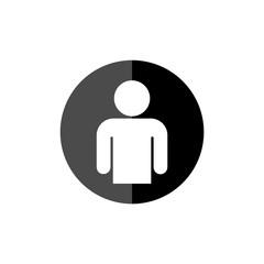 User figure social community, User icon
