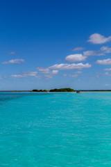 Photo Blinds Natuur Bacalar (lagoon of the seven colors) Quintana Roo Mexico