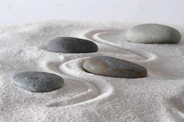 Photo sur Plexiglas Zen pierres a sable Mindful path