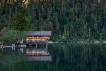 Plansee Bootshaus