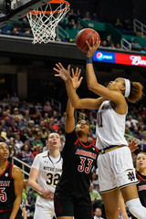 NCAA Womens Basketball: Atlantic Coast Conference Tournament - Louisville vs Notre Dame