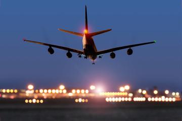Passagierflugzeug Modell
