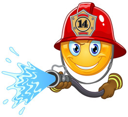Fireman emoticon