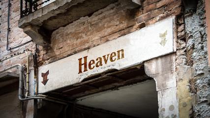 Sign 383 - Heaven