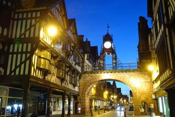 Eastgate Clock, Chester - Cheshire, England, UK Fotomurales