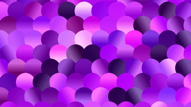 Brightly Colored Violet and Purple Mosaic Glitter