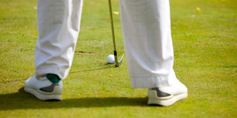 golfer ready