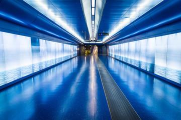 Toledo Station of the Naples Metro, Naples, Italy