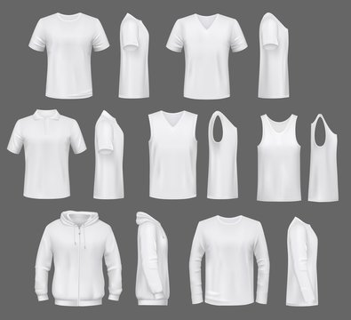 T-shirt and windcheater, polo hoodie, male clothes