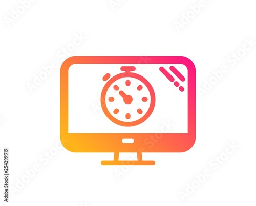 Seo timer icon  Search engine optimization sign  Analytics