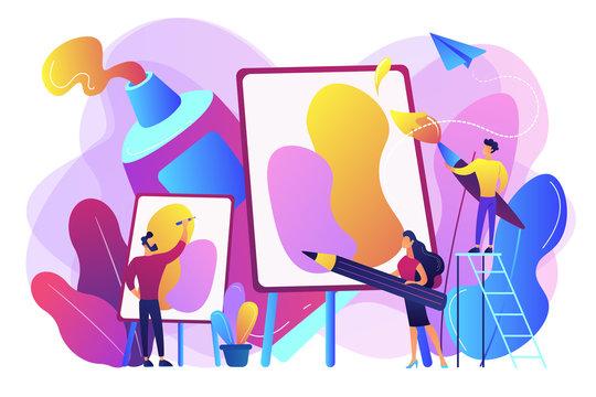 Workshop concept vector illustration.