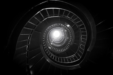 Photo sur Aluminium Spirale spiral