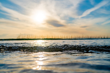 知多半島の海辺