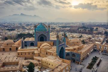 Naqsh-e Jahan Square in Isfahan, Iran, taken in Januray 2019 taken in hdr