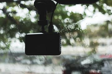 video camera recorder in car