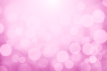 Light pink blurred soft lights bokeh textured abstract background, Woman love and valentines bokeh texture for backdrop or background concept.