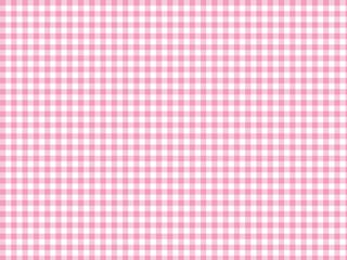 ギンガムチェック 背景 ピンク