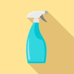 Clean spray bottle icon. Flat illustration of clean spray bottle vector icon for web design