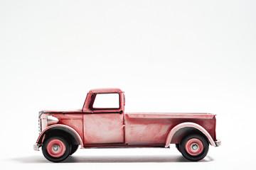 Retro track miniature.  レトロなトラックのミニチュア