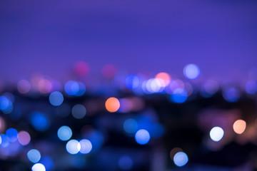 Bokeh lighting Make a beautiful background