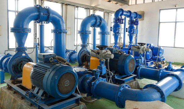 The Water pump system of  water treatment plant