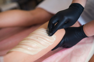 professional waxing depilation