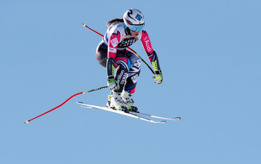 FIS Alpine Skiing World Cup Finals - Women's Downhilll training