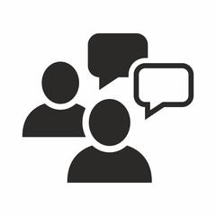 People talking icon