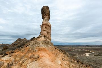 Tozal de la Cobeta sandstone, Monegros in Huesca province, Spain