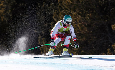 FIS Alpine Skiing World Cup Finals - Men's Downhilll training