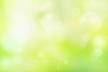 Green abstract background blur Wall mural
