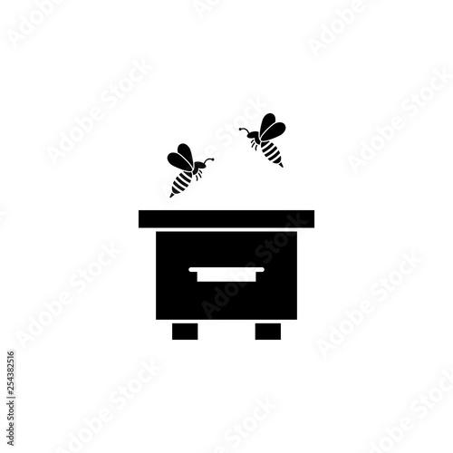 jar, honey icon  Element of beekeeping icon  Premium quality