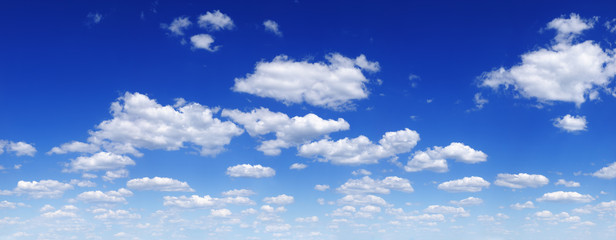 Wall Mural - Cloudscape - Blue sky and clouds