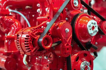Internal combustion engine automotive