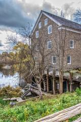 Waterwheel Stone Mill