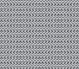 gray metal honeycomb