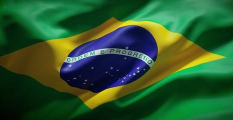 Brazilian flag. Brazil.