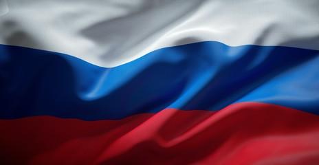 Russian flag. Russia.